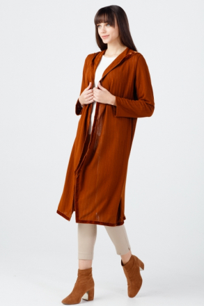 ON Women's Hooded Long Cardigan