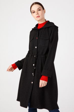 ON Hooded Long Cardigan