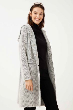 ON Women's Hooded Knitwear Cardigan