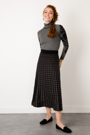 ON Women's Patterned Knitwear Skirt