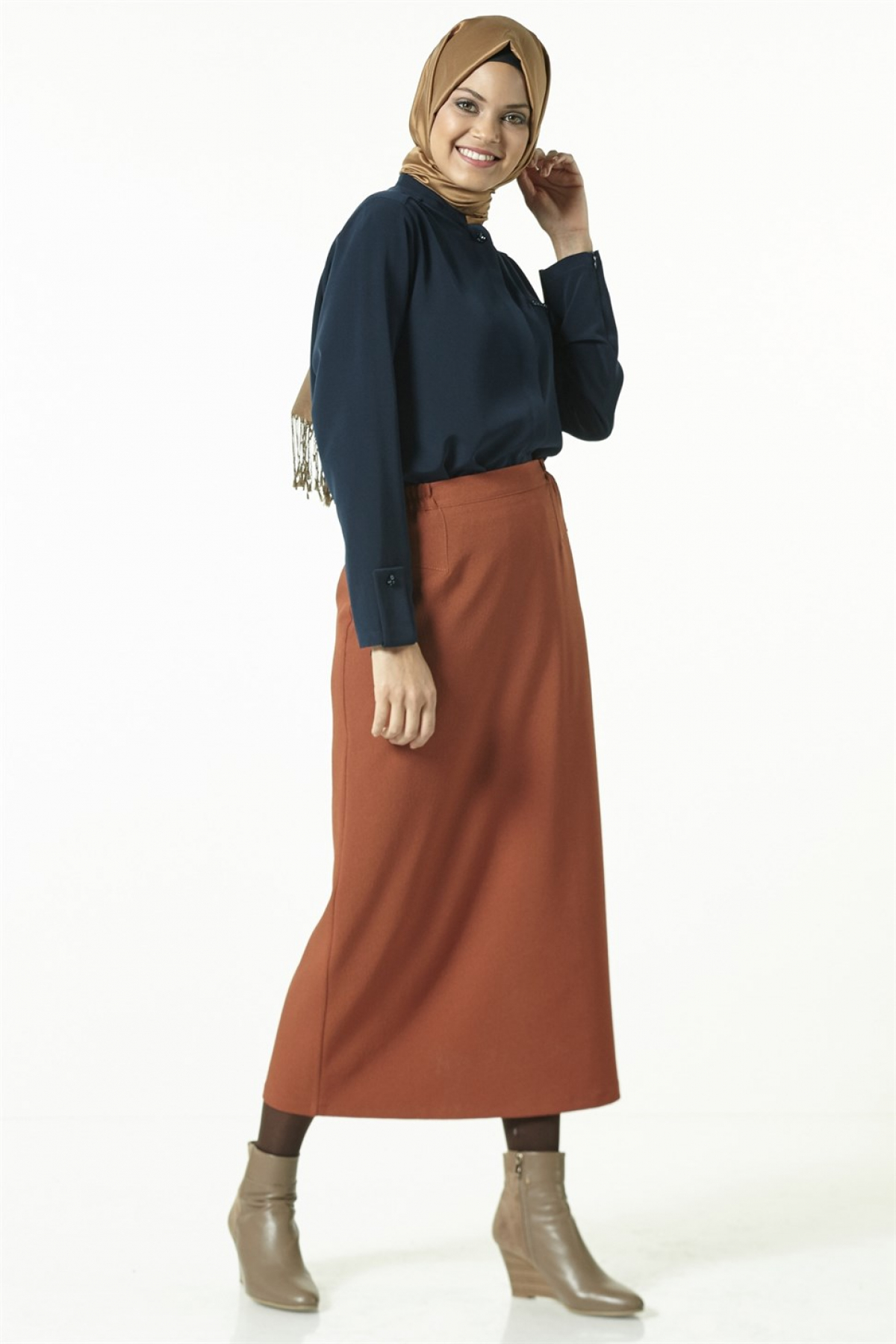 Armine - Women Skirt -  Brown