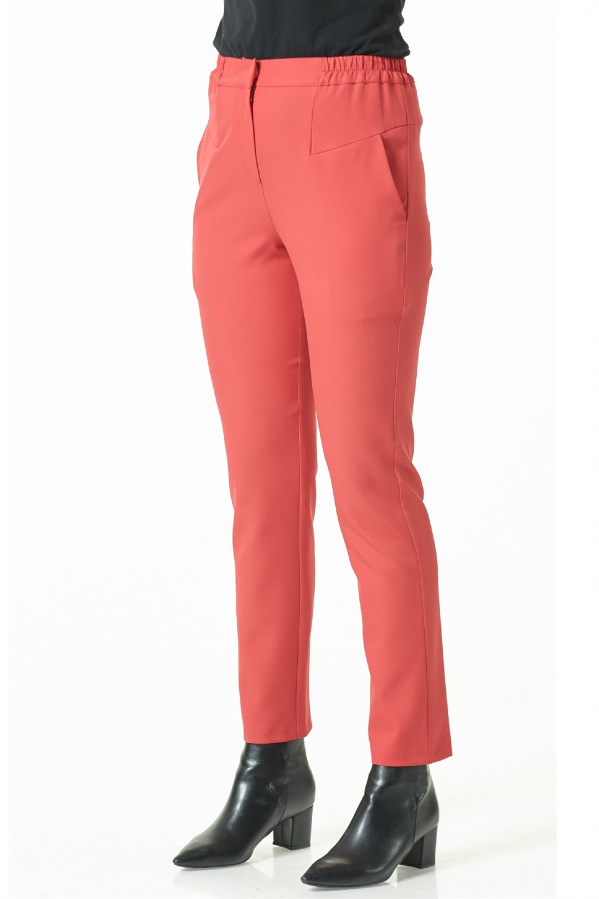 Armine - Women Pants -  Red