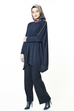 Armine - Women Blouse - Blue