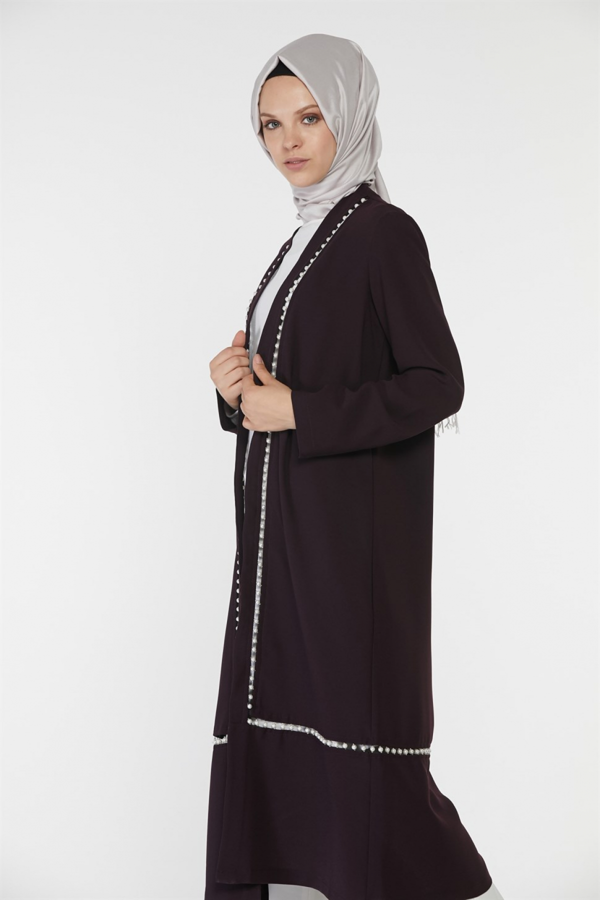 Armine Women Cardigan -  Purpule