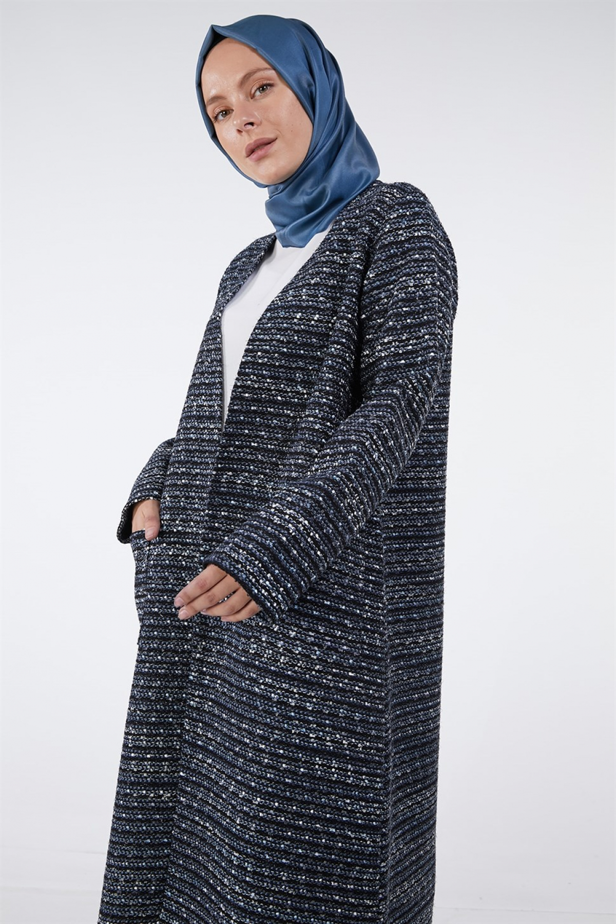 Armine - Women's Cardigan -  Blue