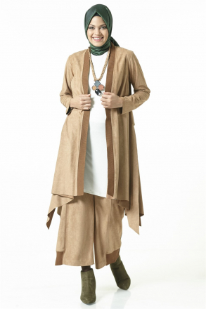 Armine Women Outfit Set - Brown