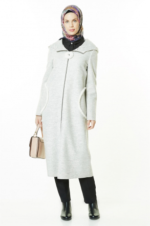Armine Women's Coat - Grey