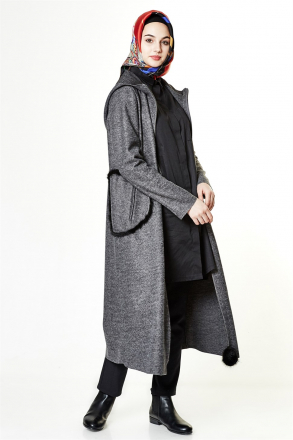 Armine Women's Coat - Black