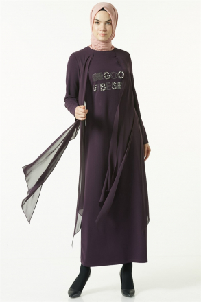 Armine Women Dress - Purpule