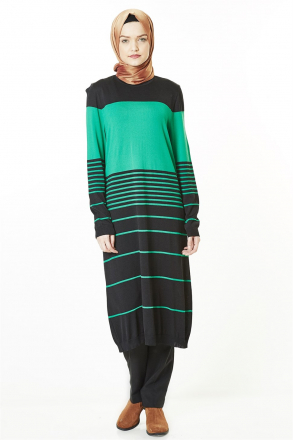 Armine Women Tunic - 8kd1154 Green