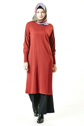 Armine Women's Tunic - Red