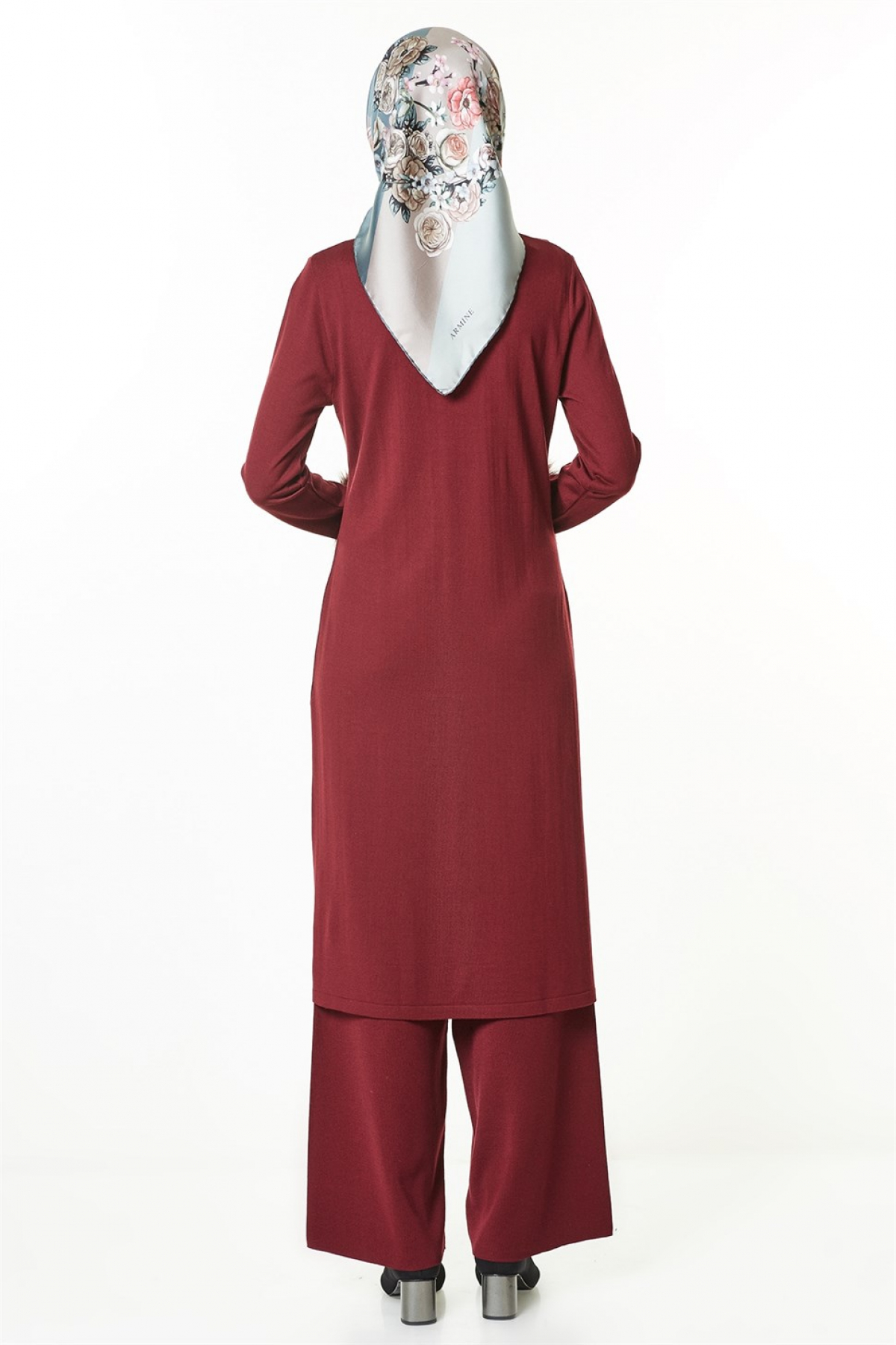Armine Women's Set -  8kd2034  Claret Red