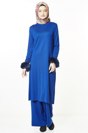 Armine Women's Set -  8kd2034 Blue