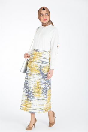 Armine Women Skirt - Yellow