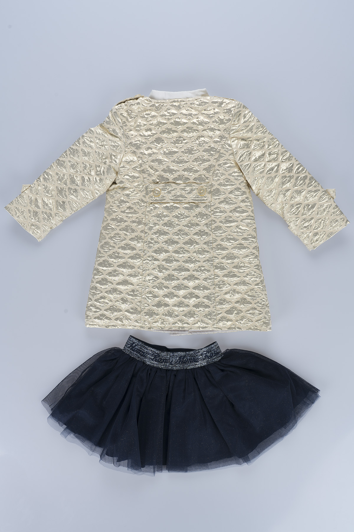 Markosin  Girl 3-Piece Suit  Gold