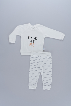 Markosin  Look At Me Unisex Baby 2 Pieces Set
