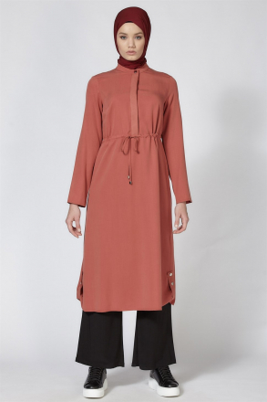 Armine Lacing Detailed Women's Tunic