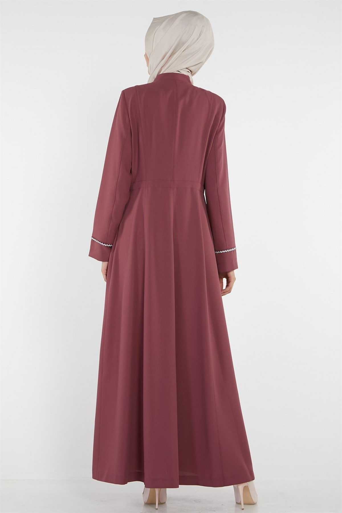 Armine Women's Abaya -  Red