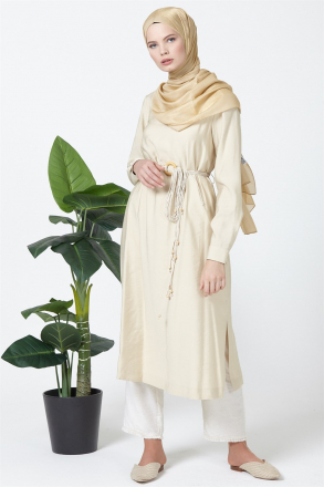 Armine Women's Tunic With a Belt Accessory - 9Y4923