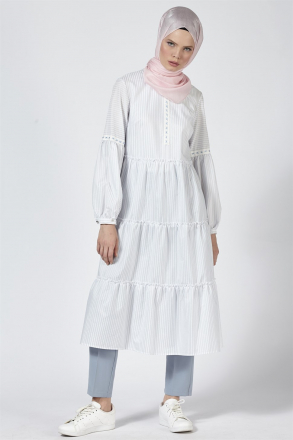 Armine Embroidery Detailed Women's Tunic