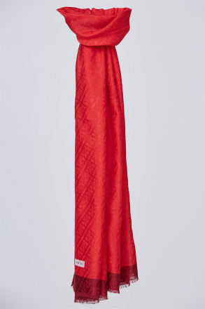 Armine - Women Shawl - Red