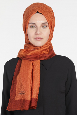 Armine - Women Shawl - Brown