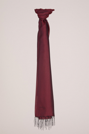 Armine - Shawl - Claret Red