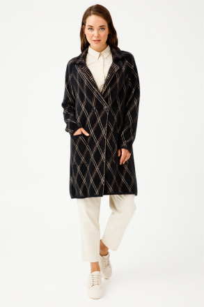 TığTriko Women's Knit Coat -