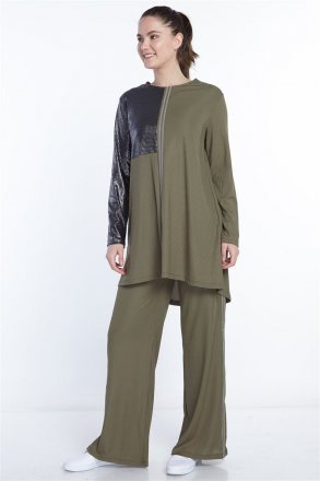 Etesettur Women's Double Sweat Suits - N-105