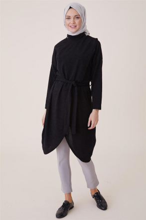 Etesettur Women's Double Breasted Belted Tunic - 20925