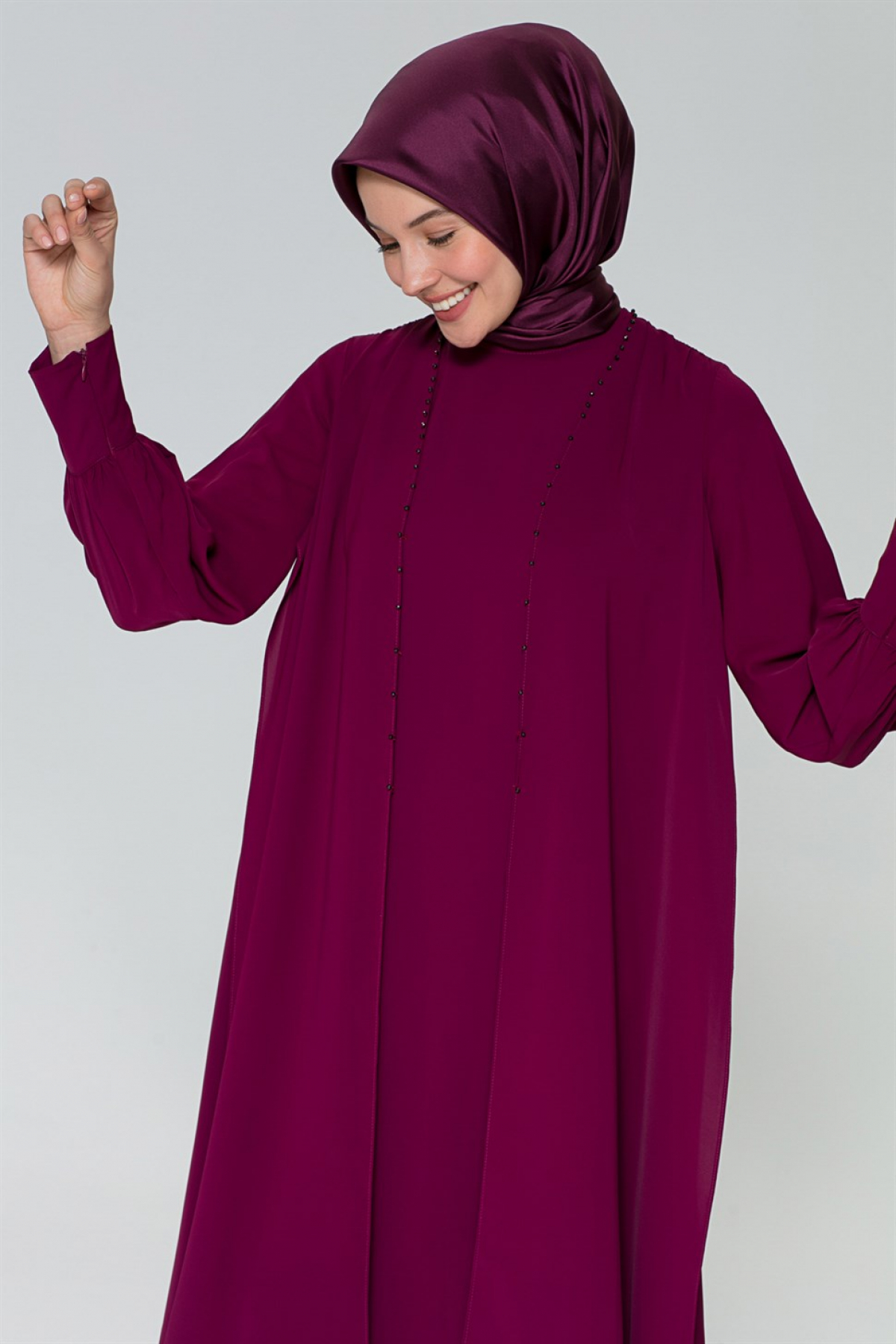 Armine Women Tunic Dress -  Purpule