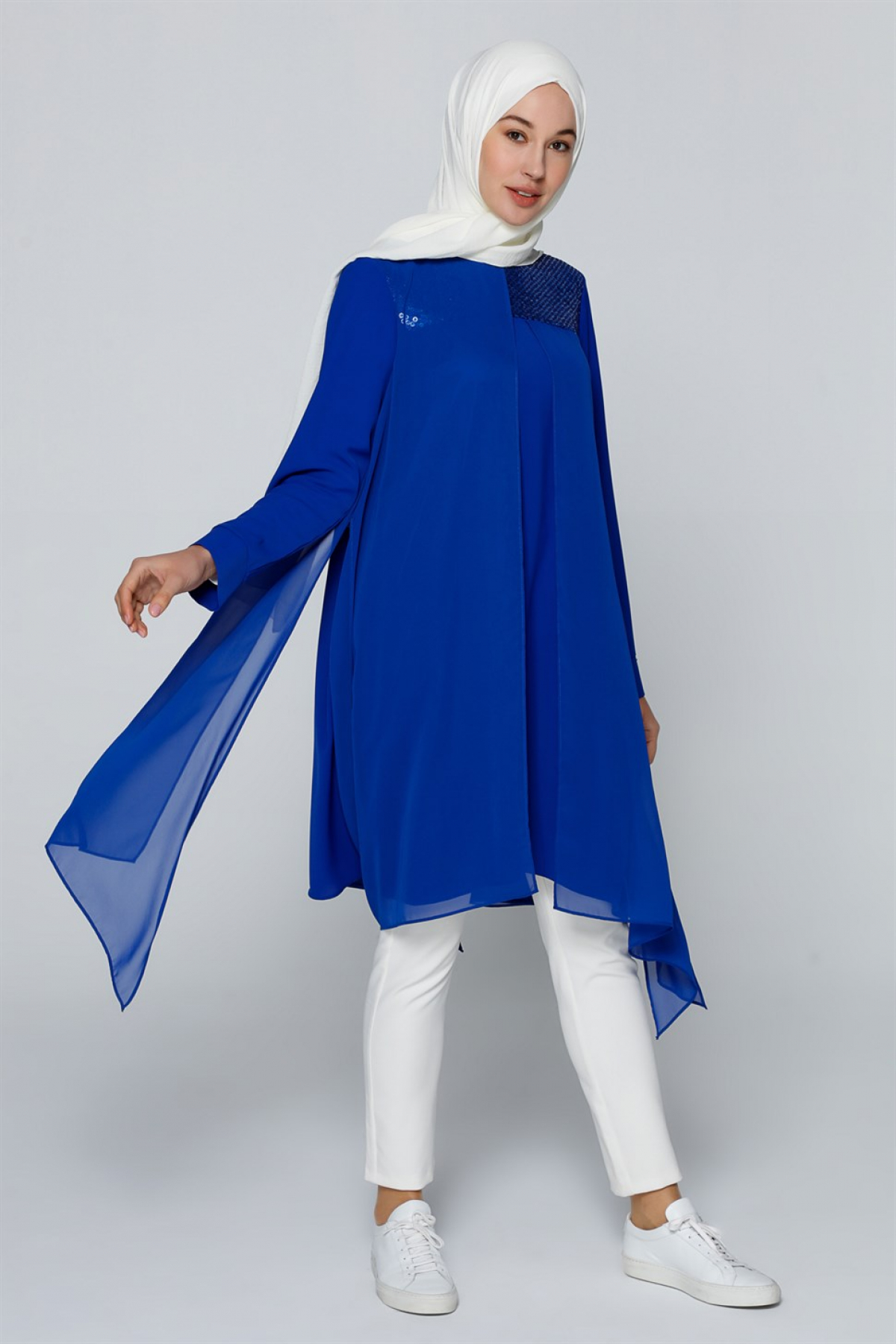 Armine Women's Tunic - 9Y4831 Blue