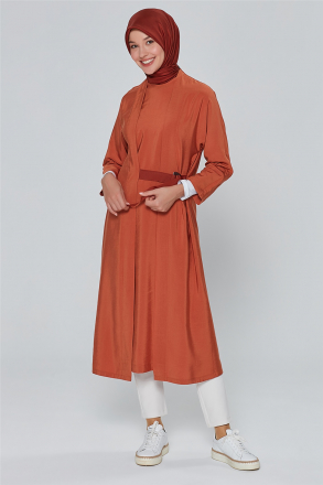 Armine Women's Tunic With a Belt