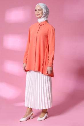Armine Pleated Skirt -