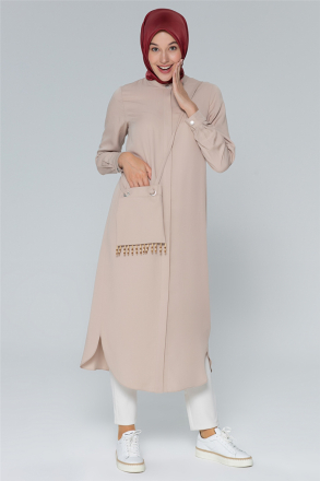 Armine Women's Tunic With An Accessory Bag - 20Y4414