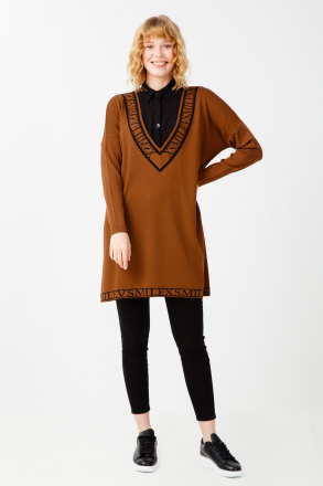 TiğTriko Women's V Neck Tunic -