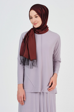 Armine - Shawl - Red