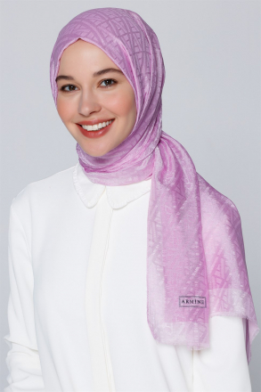 Armine - Women Shawl - Claret Red
