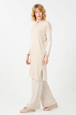 TigTriko Women's Knitwear 2-Piece Set Tunic+Trousers -